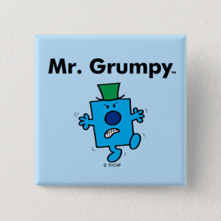 Badges M. Grumpy de M. Men | est un bougon