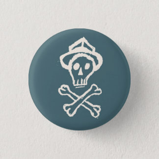 Badges M. Skullington - bleu de ciel de Doldrum