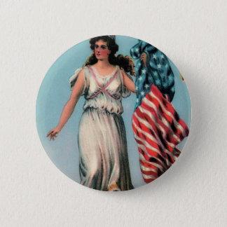 Badges Madame vintage Liberty