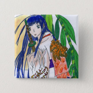 Badges Mana , la jeune fille samourai