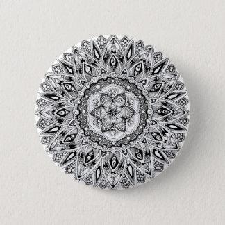 Badges Mandala de fleur avec la graine de la vie