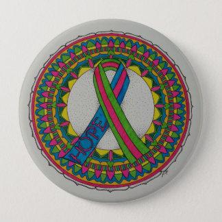 Badges Mandala pour le cancer du sein métastatique