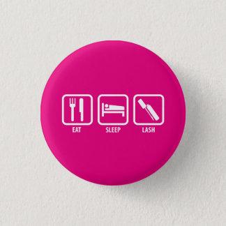 Badges Mangez, dormez, fouettez - le mascara 3D