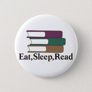 Badges Mangez, dormez, lisez