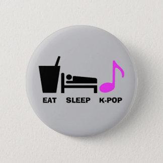Badges Mangez le bouton de Kpop de sommeil (la lumière)