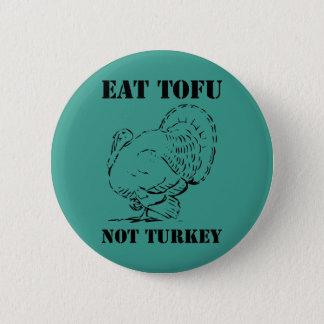 Badges Mangez le Pin végétalien d'insigne de Noël de Noël