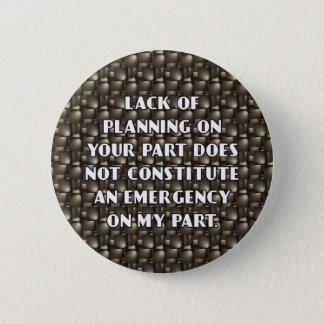 Badges Manque de bouton de planification