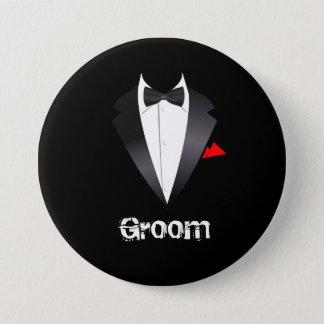 Badges Marié avec la chemise de smoking - bouton
