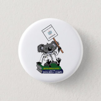 Badges Mars pour la Science Australie - koala -