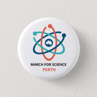 Badges Mars pour la Science - Perth -