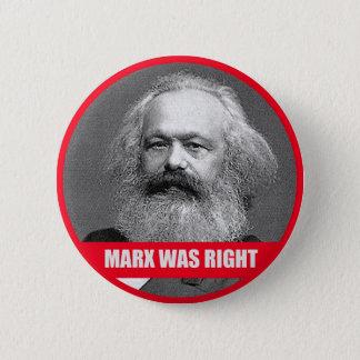 Badges Marx avait raison