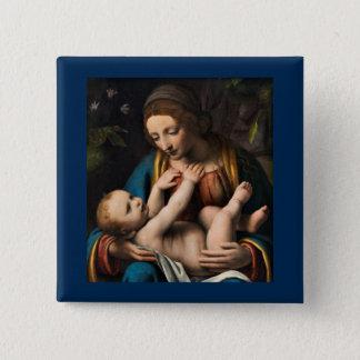 Badges Med Kristusbarnet de Madonna