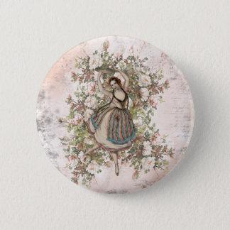 Badges Mélange floral gitan et match de danse vintage