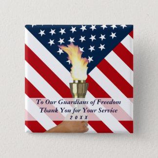 Badges Merci de militaires de jour ou de Jour du Souvenir