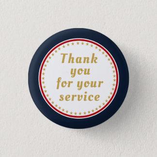Badges Merci retiré du feu de police militaire de service