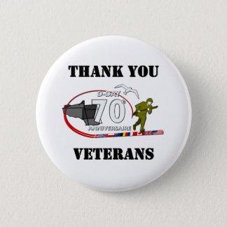 Badges Merci vétérans - Thank you veterans
