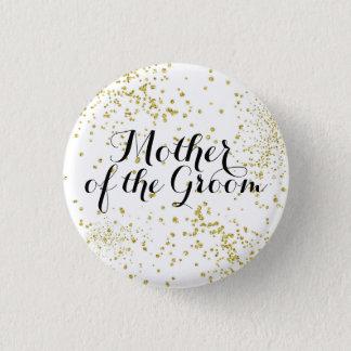 Badges Mère mignonne de parties scintillantes d'or du