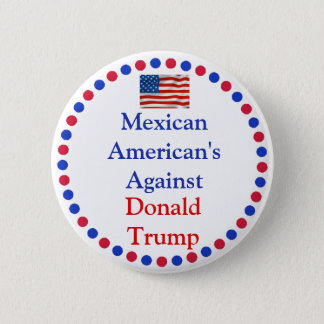 Badges Mexico-Américains contre le bouton de Donald Trump