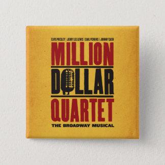 Badges Million de logo de quartet du dollar