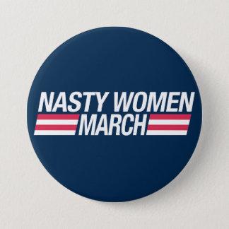 Badges Million d'insigne de bouton de mars de femmes