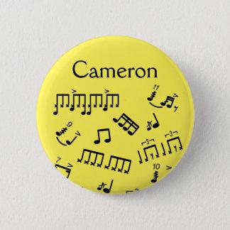 Badges Mise en tambour des notes nommées de percussion de
