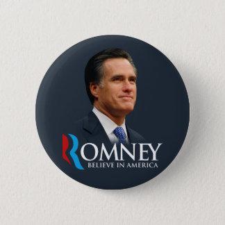 Badges Mitt Romney croient au portrait de l'Amérique