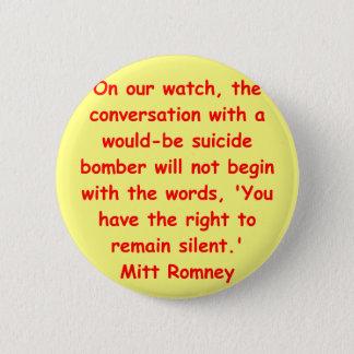 Badges Mitt Romney pour le président
