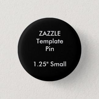 Badges Modèle vide de Pin rond fait sur commande de