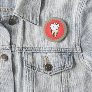 Badges Molaire fraîchement extraite