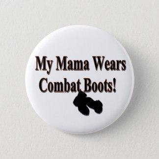 Badges Mon bouton de bottes de combat de maman Wears