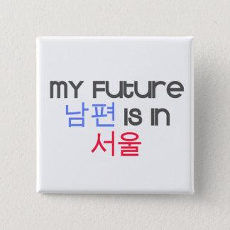 Badges Mon futur Nampyeon est à Séoul