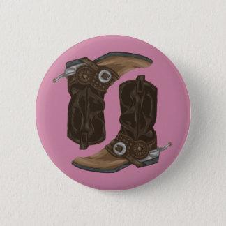 Badges Motif de bottes de cowboy