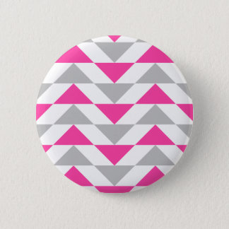 Badges Motif géométrique de blanc gris de rose de