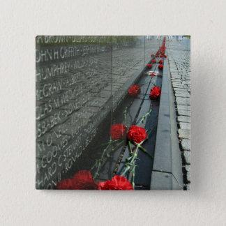 Badges Mur de mémorial de vétérans du Vietnam