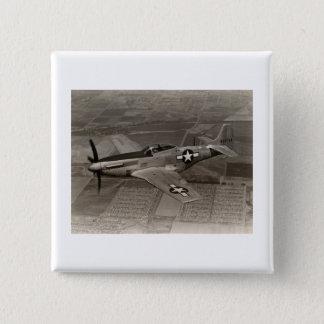 Badges Mustang du 2ÈME GUERRE MONDIALE P-51 en vol