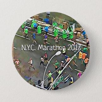Badges N.Y.C. Bouton de coureurs et de volontaires du