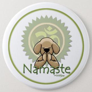 Badges Namaste - bouton de yoga