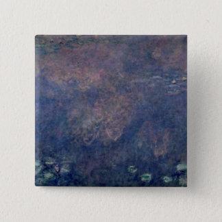 Badges Nénuphars de Claude Monet | : Centre de saules