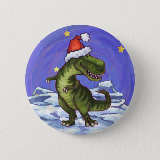 Badges Noël de Tyrannosaurus
