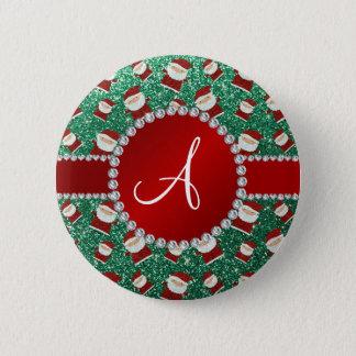 Badges Noël vert en bon état le père noël de
