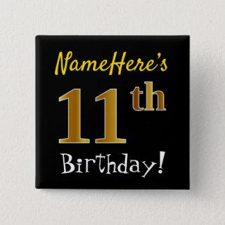 Badges Noircissez, anniversaire d'or de Faux le 11ème,