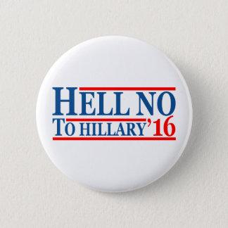 Badges Non à Hillary '16