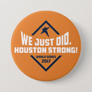 Badges Nous avons juste fait. Grand bouton (orange)