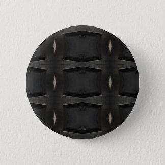 Badges Nuances de motif classique gris de charbon de bois