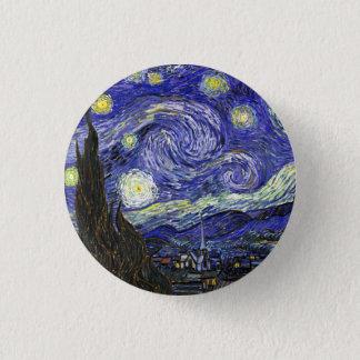 Badges Nuit étoilée par Vincent van Gogh