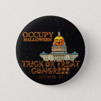 Badges Occupez Halloween le 31 octobre