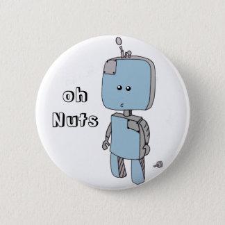 Badges Oh écrous ! Insigne d'accidents de robot