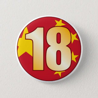 Badges Or de 18 CHINE