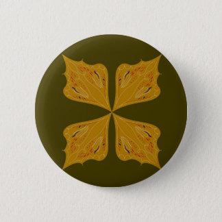 Badges Or de mandalas sur l'olive