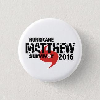 Badges Ouragan Matthew survivant en octobre 2016
